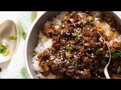 Asian Beef Bowls
