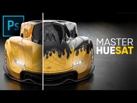 Master Hue/Saturation From Start To Finish In Photoshop!