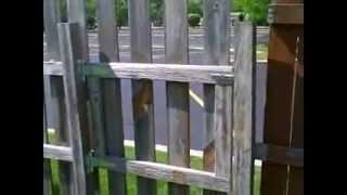How To Build A Gate - How To Repair A Gate - Half Lap Joint