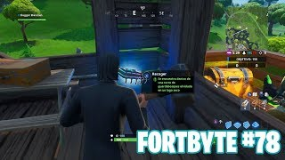 Fortnite Battle Royale ? Fortbyte Challenges How to get the Fortbyte #78