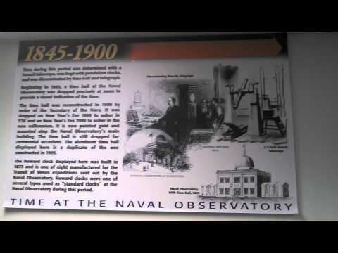 U.S. Naval Observatory (USNO) Visitor's Museum & Gift Shop Tour