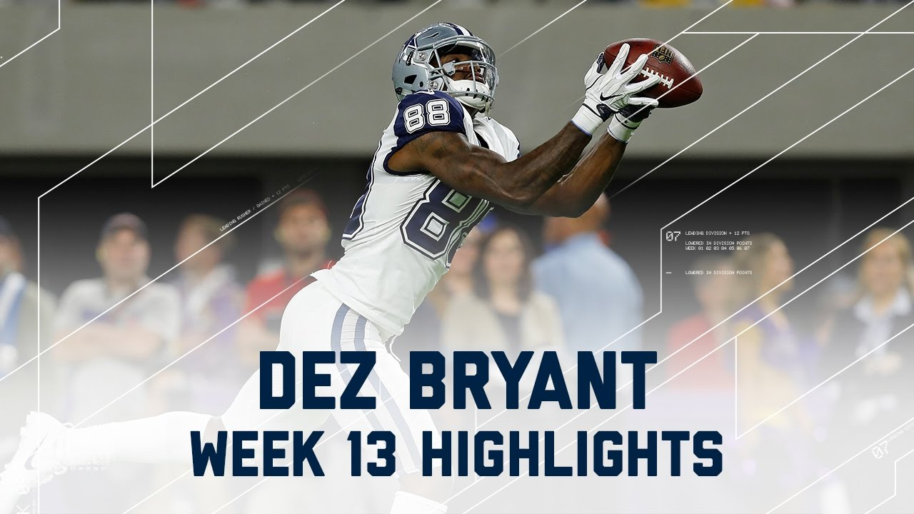 Dez Bryant Amazing 84 Yards 1 Td Cowboys Vs Vikings Nfl Week 13 Player Highlights