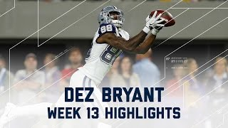 Dez Bryant Amazing 84 Yards & 1 TD! | Cowboys vs. Vikings | NFL Week 13 Player Highlights