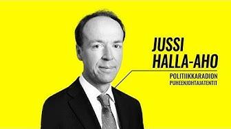 Eduskuntavaalit 2019: Jussi Halla-aho Yle Puhe politiikkaradion vaalitentissä