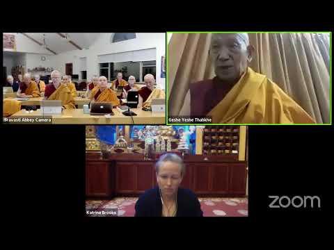 05 Pramanavarttika with Geshe Yeshe Thabkhe Refuting That Body Is the Special Basis of Mind 10-08-20