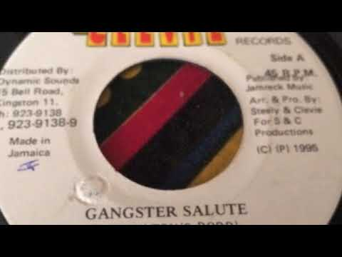 Captain Barkey - Gangster Salute - Steely & Clevie records