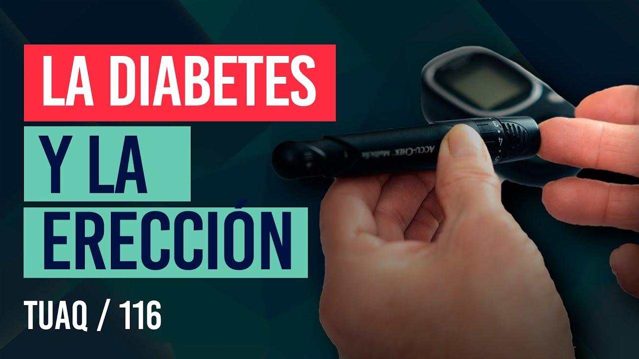 ¿Qué le ocurre a tu #erección cuando tienes #diabetes?