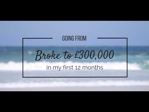 EPISODE #1 - GOING FROM BROKE TO £300,000 IN MY FIRST 12 MONTHS