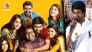Imman forgot us after seeing heroines : Soori Comedy Speech | Gemini Ganeshanum Suruli Raajanum