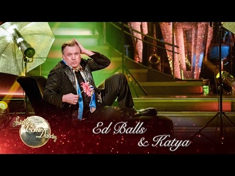 Ed Balls & Katya Jones Tango to '(I Can't Get No) Satisfaction' by The Rolling Stones -Strictly 2016