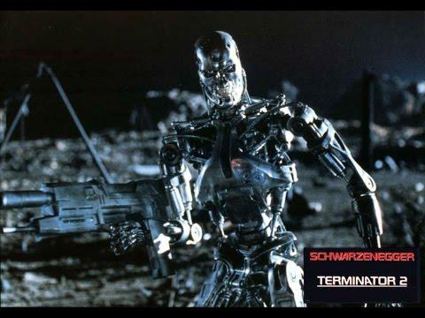 Терминатор 2: Судный день - Сцена 3/10 Т-800 против Т-1000 (1991) QFHD