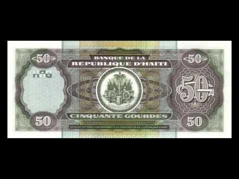 All Haitian Gourde Banknotes - 2000 Issue