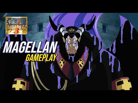 One Piece Pirate Warriors 3 - Magellan Gameplay (Nightmare Dream Log) |