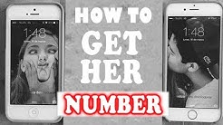 How to get a Girl's Phone Number - Flirting Tips and Techniques to Get Her Number