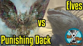 Punishing Dack vs Elves Legacy Magic: the Gathering w/Commentary Brainstorm MTG Fast Effect