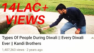 Types Of People During Diwali || Every Diwali Ever || Kandi Brothers
