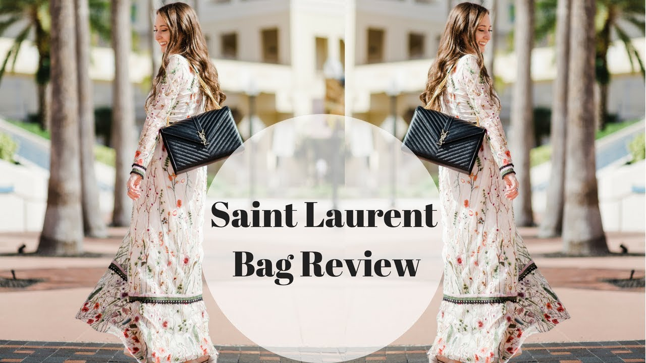Saint Laurent Large Monogram Shoulder Bag Review - YouTube 4fe1d4e38a1d2