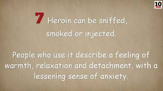 10 Facts About The Drug Heroin