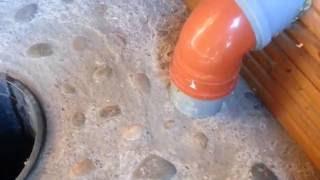 видео дачный туалет