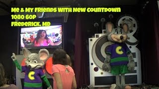 Me And My Friends With New Countdown Chuck E. Cheese's New 2017 Live Show Frederick, MD