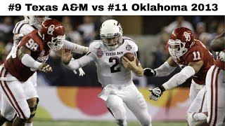 Manziel Magic in the Cotton Bowl! (Texas A&M vs Oklahoma 2013) | CFB Throwback Highlights
