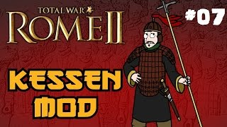 Total War: Rome 2 - Kessen Campaign - Part 7 - Now With Commentary :D