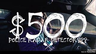 Police Radio/Detector worth $500???