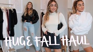 The biggest Fall haul ever: Forever 21, Missguided & more | Julia Havens