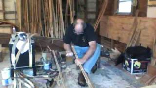 Japanese bow: Yumi-making with Jaap Koppedrayer, part 2.