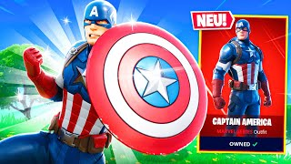 *NEU* CAPTAIN AMERICA CHALLENGE in Fortnite (AVENGERS)