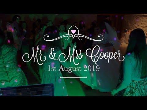 Tithe Barn Petersfield Hampshire - Wedding Video - Jessica & Laurence
