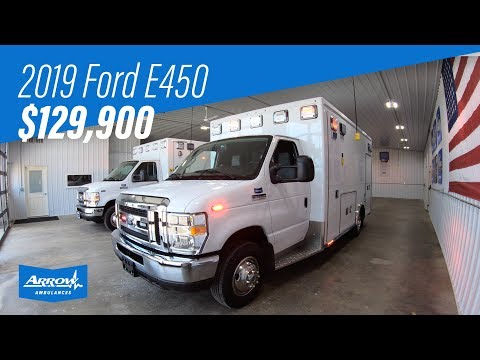 2019 Ford E450 Type 3 Arrow Ambulance (Truck #06714)