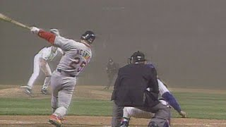 McGwire homers through the fog at Wrigley