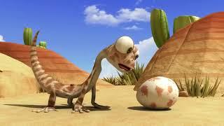 Oscar s Oasis   Baby Lizardl kartun