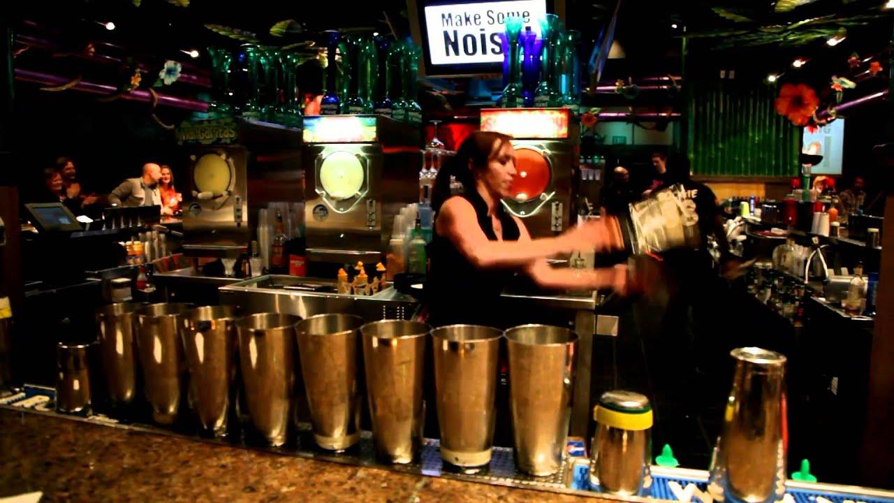 kahunaville bar las vegas - bartender essie numminen - youtube
