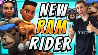 New Clash Royale Card! Ram Rider Tips   SirTagCR - Clash Royale ▻ S...