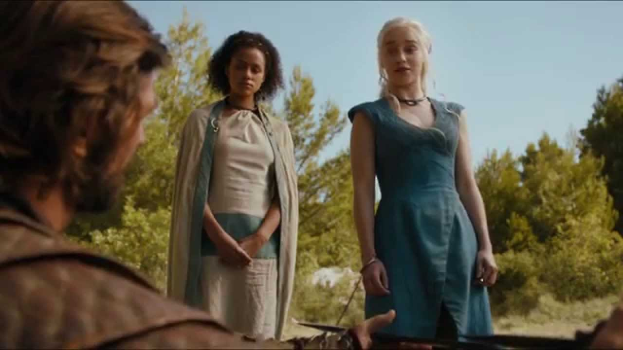 Game Of Thrones Season 4 Daenerys Targaryen | www.pixshark ... Daario Naharis And Daenerys Season 4