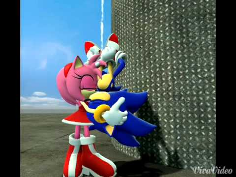 Sonic X Amy = sonamy music: shower by Becky G