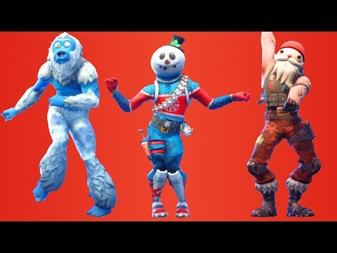 Fortnite All Dances Season 1-7 Updated to Showstopper