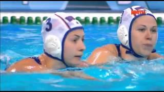 Водное поло. Чемпионат Европы. Женщины. Трансляция из Сербии