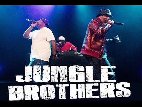 "Jungle Brothers ""I'll House You"" Live"