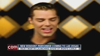 Ricky Martin announces residency at Monte Carlo's Park Theater