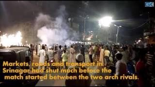 Firecrackers in Kashmir greet Pakistan win over India in Champions Trophy Final