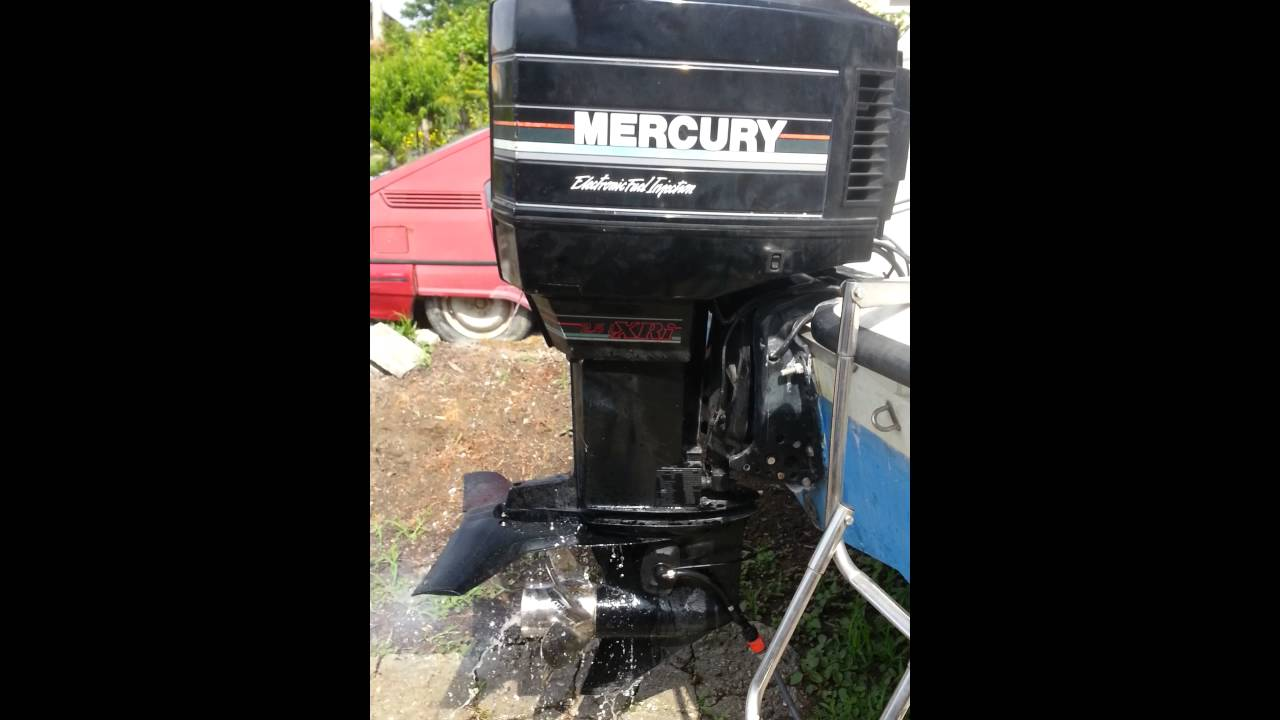 1995 mercury black max 200 2 5l xri [ 1280 x 720 Pixel ]