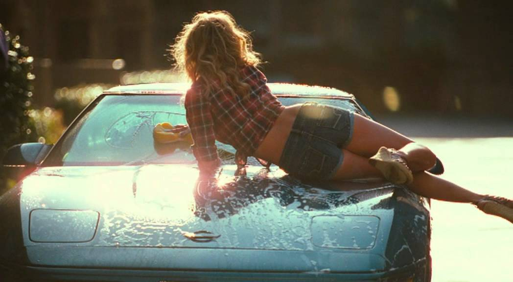 Cameron diaz humping the car 1