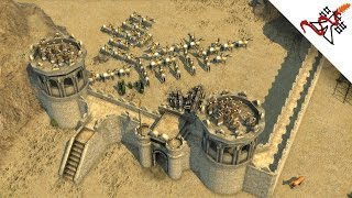 Stronghold Crusader 2 - 2vs2 Multiplayer | The King is Back | Deathmatch [1080p/HD]
