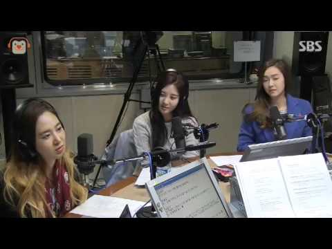 140312 Yuri, Seohyun & Jessica Mr.Mr. @Kimchangyeol radio GIRLS' GENERATION Live