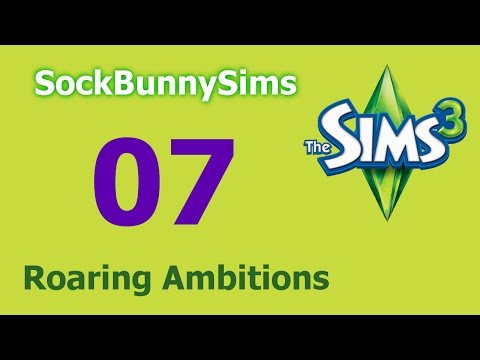 Sims 3 - Roaring Ambitions - Ep 07 - Indoor Swiping