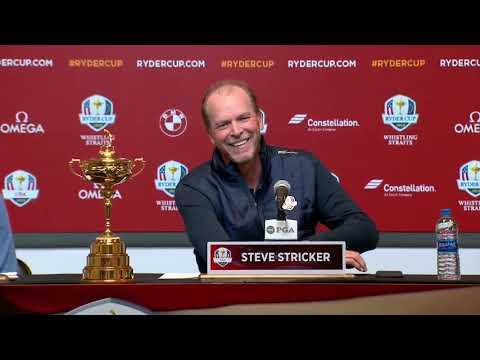 Steve Stricker named 2020 U.S. Ryder Cup Captain (Full press conference)