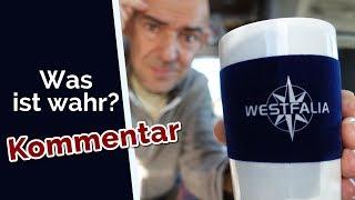 Vlog: Kommentar zum Video vom Westfalia Besuch